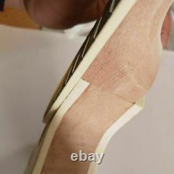 1 set DIY unfinished Guitar Neck and body for LP style guitar kit all hardware