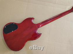 1 set finished Guitar Neck and body for SG style guitar kit