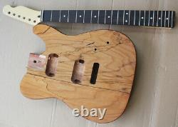 1 set unfinished Guitar Neck and body TL electric guitar