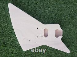 1Set Guitar Guitar neck 22 Fret Guitar Body Banana Head Dot Inlay Set in Kit DIY