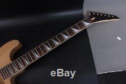1Set Mahogany Guitar Body+Maple Guitar Neck Diy Electric Guitar Project