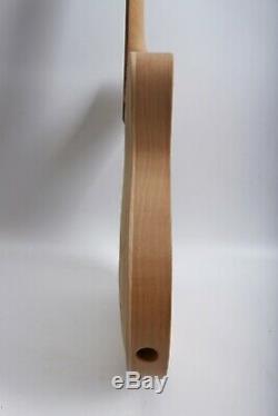 1set Guitar Kit 22fret guitar neck Body Maple DIY Electric Guitar Maple Rosewood