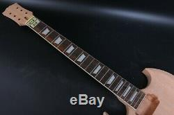 1set Guitar Kit Guitar Body Neck 22 Fret SG Style Guitar rosewood Fretboard US