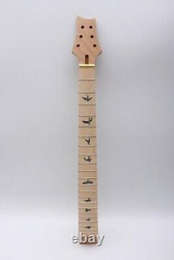 1set Guitar Kit Guitar Neck 22fret Guitar Body Mahogany Maple wood DIY Guitar