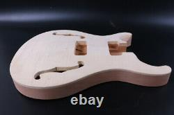 1set Guitar Kit Left hand Electric Guitar Body Mahogany Guitar neck rosewood