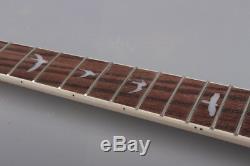 1set electric guitar Kit Guitar Neck 22fret Guitar Body Mahogany Maple Wood