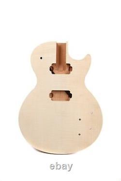 1set guitar kit Guitar Body Guitar neck 22 fret 24.75inch DIY Guitar Mahogany