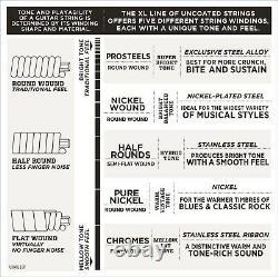 25 Sets EXL120 D'Addario EXL120-B25 Bulk 25 Pack 09-42 Guitar Strings