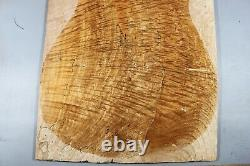 5888 10mm AAAAA Curly Ripple Maple Wood Guitar Top Set Luthier -ONE AND ONLY
