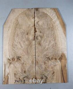 5A Flame Maple Wood les paul Guitar Bookmatch Drop Top Set Luthier D27-2