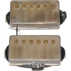 Bare Knuckle The Mule Vintage Output Guitar Humbucker Set Aged Nickel Covers