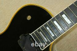 Beautiful1 set black finished Guitar Neck and body for LP style guitar kit