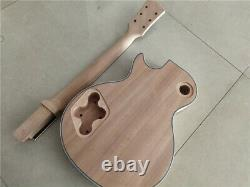 Best 1 Set DIY Electric Guitar Kit Mahogany Body And Neck