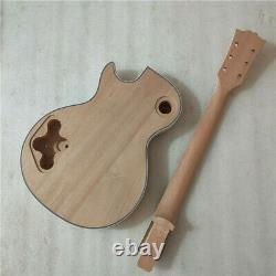 Best DIY Unfinished 1 set electric guitar body and neck for LP style guitar kit
