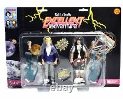 Bill & Ted's Excellent Adventure Air Guitar Collectors Set of 2 Action Figures