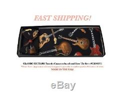 CLASSIC GUITARS Tuxedo Cummerbund Bow Tie Set NEW CBMU01