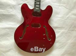 DIY 1 set finished Guitar Neck and body for ES335 style guitar kit
