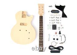 DIY Electric Guitar Kit Singlecut JR P90 Pickup Build Your Own Guitar Kit Set