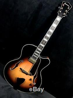 EASTMAN JAZZ 17 ELITE Sunburst ARCHTOP w Set HB P/U Guitarsn Jazz, Summit, NJ