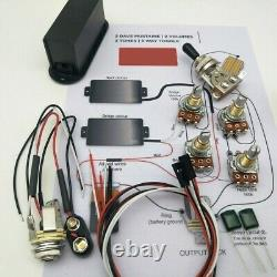 EMG Style Electric Guitar Active Preamp Pickups Humbucker Set 81 85 Wire Pickups