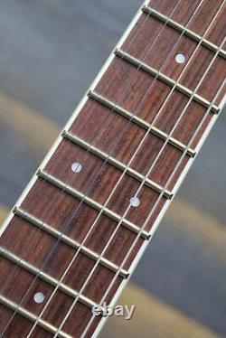 ESP LTD EX-200 Left-Handed Set-Neck Construction Black El. Guitar #RS18010057