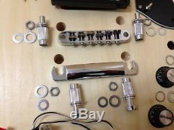 Electric Guitar DIY Kits, Set Neck, Complete No-Soldering DIY-240