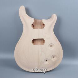Electric guitar body Replacement Maple Mahogany Solid wood Set In Pocket