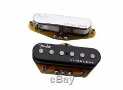 Genuine Fender GEN 4 Noiseless Telecaster/Tele Guitar Pickups Set 099-2261-000