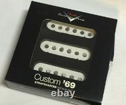 Genuine USA Fender Strat Custom Shop 69 Stratocaster Pickup Set of 3 NEW