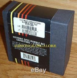 Gibson Les Paul Bumble Bee Capacitor Set Historic Guitar Parts R9 R8 R7 Reissue
