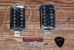 Gibson Les Paul Pickup 1957 Classic Set Black 57 Guitar Parts Humbucker SG Plus