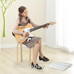 Glarry Tele-style Electric Guitar Rosewood F-board Semi-Hollow Set Tool UK Stock