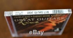Great Guitars Live Set Barney Kessel, Herb Ellis, Charlie Byrd 2CD, 2001 NEW