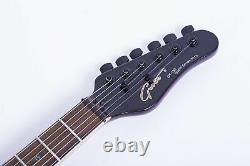 Grote Tele Set-in Electric Guitar With locking tuners (purple)