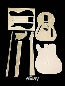 Guitar Template Set Telecaster Thinline cnc made 100% accurate templates