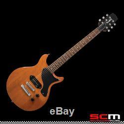 Hamer Junior Electric Guitar P90 Solid Body Set Neck PRO-SCM setup Free Shipping