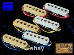 Hybrid Vintage Stratocaster Strat Electric Guitar Pickups Alnico V single coil
