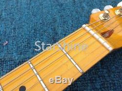 Instock TL Electric Guitar Gold Hardware Set In JointAAA Grade Quilted Maple Top