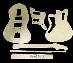 Jazzmaster Guitar Template Set cnc made 100% accurate templates