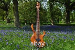 Manton Customs Ascendant Set Neck 6 Six String Bass Guitar Luthier Delano ABM