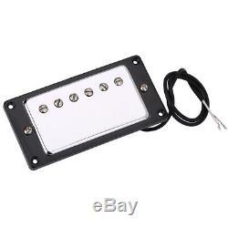 Metal & Electron Material Humbucker Neck Bridge Pickup Set for LP Guitars NEW