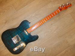 Mutant Guitar Works Custom Telecaster Flametop #03 Fully set up low action