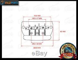 NEW 1 Set 4 Strings Electric Bass Bridge For Musicman Bass Guitars (Chrome)