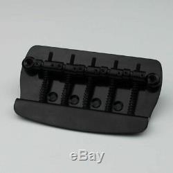 NEW 1 Set 5 Strings Electric Bass Bridge For Musicman Bass Guitars (Black)