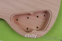 New Electric Guitar Body Replacement Set in Heel SG Style Mahogany wood HH Style