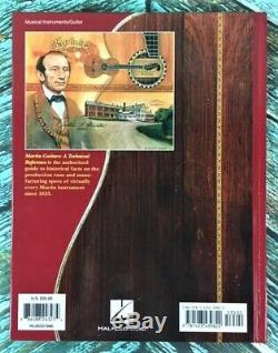 New! MARTIN GUITARS A HISTORY & A TECHNICAL REFERENCE Box Set! HL00331987