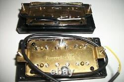 New Set Humbuckers Powered By Lace Ceramic Black For All Guitars