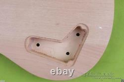 New guitar Body HH Style Mahogany Maple Cap Set In PRS DIY Guitar Curved Top
