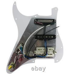 OriPure A Set 3pcs HSS Alnico 5 Pickup Prewired 4Ply SSH Strat Guitar Pickguard