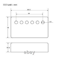 OriPure Handmade Alnico 5 Humbucker Pickup Neck / Bridge for LP Style Guitar